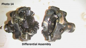 14. Differential assembly