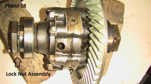 18. Lock nut assembly