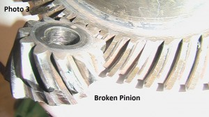 3. Broken Pinion